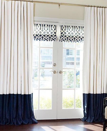 Custom Roman Shades & Blinds
